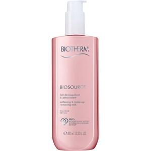 Biotherm - Biosource - Softening & Make-up Removing Milk für trockene Haut