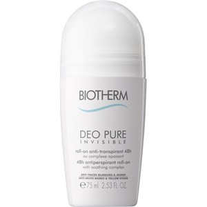 Biotherm - Deo Pure - Invisible Roll On 48h