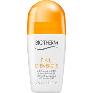 eau d 39 nergie deodorant roll on fra biotherm parfumdreams. Black Bedroom Furniture Sets. Home Design Ideas