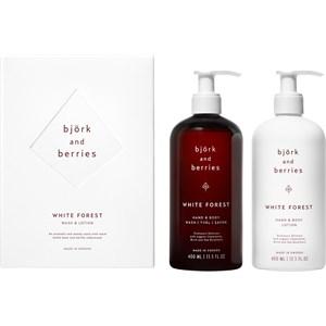 Björk & Berries - Body care - Gift set