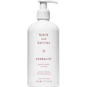 Björk & Berries - Herbalist - Hand & Body Lotion