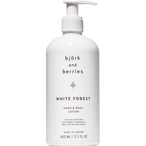 Björk & Berries - White Forest - Hand & Body Lotion