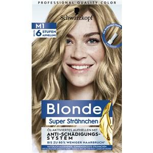 Blonde - Coloration - Super Strähnchen M1