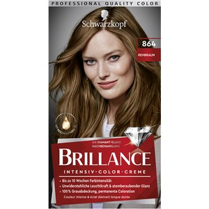 Brillance - Coloration - 864 Hieman punertava vaaleanruskea, taso 3 Intensiivinen värivoide