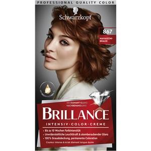 Brillance - Coloration - 867 Castanho mogno nível 3 Creme de cor intensivo