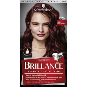 Brillance - Coloration - 876 Edelmahagoni Stufe 3 Intensive colour cream