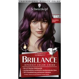 Brillance - Coloration - 887 Mogano satinato grado 3 Crema colorante intensiva