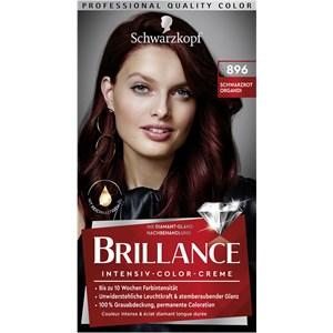 Brillance - Coloration - 896 Rosso nero Organdi grado 3 Crema colorante intensiva