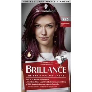 Brillance - Coloration - 923 Burgundowa czerwień poziom 3 Intensywny krem koloryzujący