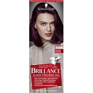 Brillance - Coloration - Dunkle Kirsche Glanz-Tönungs-Gel