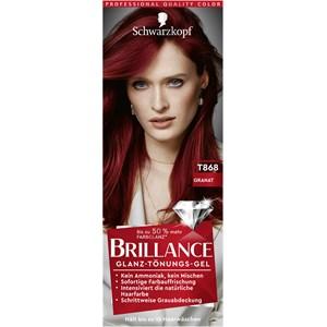 Brillance - Coloration - Granate Gel de tonalidad brillante