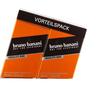 Bruno Banani - Absolute Man - Eau de Toilette Spray Duo