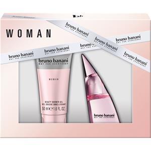 Bruno Banani Damendüfte Woman Geschenkset Eau de Toilette Spray 20 ml + Shower Gel 50 ml 1 Stk.