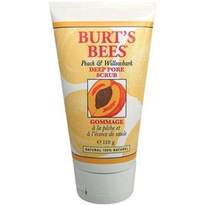 Burt's Bees - Gesicht - Peach & Willowbark Deep Pore Scrub