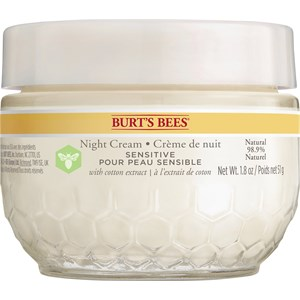 Burt's Bees - Obličej - Sensitive Night Cream