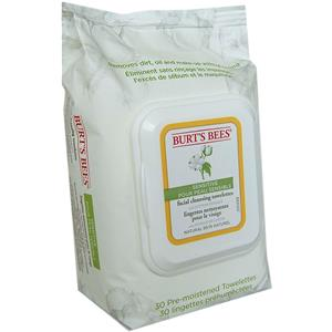 Burt's Bees - Cuerpo - Sensitive Facial Cleansing Towelettes