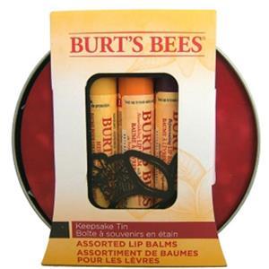 Burt's Bees - Lippen - Lip Balm Geschenk Dose Geschenkset