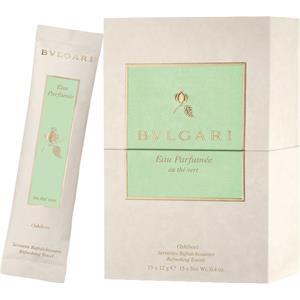 Bvlgari Eau Parfumee au The Vert Refreshing Towels 15 Stk. unisex