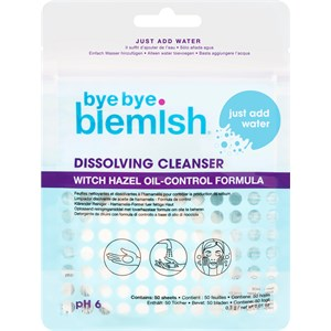 Bye Bye Blemish - Cleanse - Water Activated Dissolving Cleanser Sheets