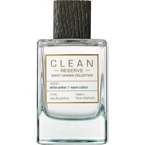 CLEAN - Avant Garden Collection - White Amber & Warm Cotton Eau de Parfum Spray