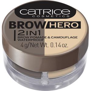 Catrice - Augenbrauenprodukte - Brow Hero 2 In 1 Brow Pomade & Camouflage Waterproof