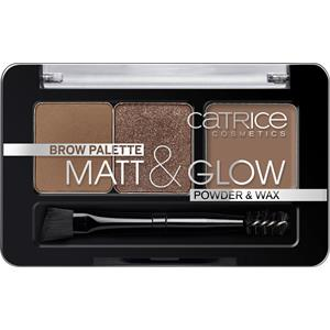 Image of Catrice Augen Augenbrauenprodukte Brow Palette Matt & Glow Nr. 010 Now FlASH Lights 2,60 g