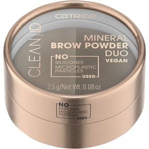 Catrice - Produits pour les sourcils - Mineral Brow Powder Duo