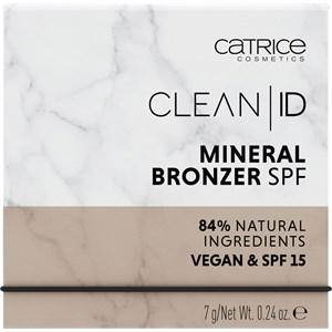 Catrice - Bronzer - Clean ID Mineral Bronzer SPF 15