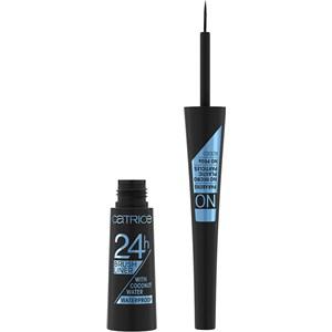 Catrice - Eyeliner & Kajal - 24h Brush Liner Waterproof Eyeliner