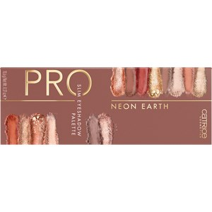 Catrice - Fard à paupières - Pro Neon Earth Slim Eyeshadow Palette