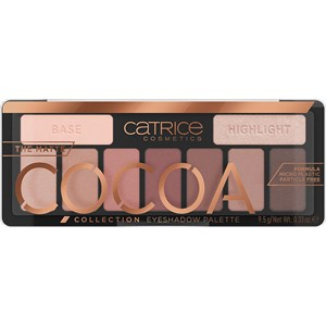 Catrice - Lidschatten - The Matte Cocoa Collection Eyeshadow Palette