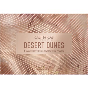Catrice - Make-up - Desert Dunes 6 Colour Bronzing & Highlighting Palette