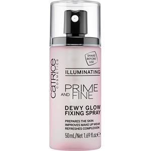 Catrice - Make-up - Prime And Fine Dewy Glow Fixing Spray