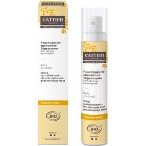 Cattier - Gesichtspflege - Rose & Jojobaöl Feuchtigkeitsspendende Tagescreme Secret Botanique