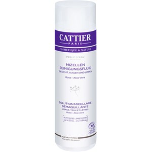 Cattier - Gesichtsreinigung - Rose & Aloe Vera Mizellen Reinigungsfluid Perle d´Eau