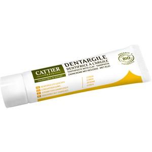 Cattier - Zahnpflege - Zitrone  Zahncreme mit Heilerde