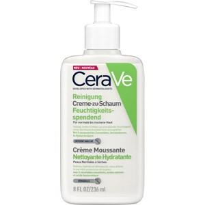 CeraVe - Normal to dry skin - Creme-zu-Schaum Reinigung