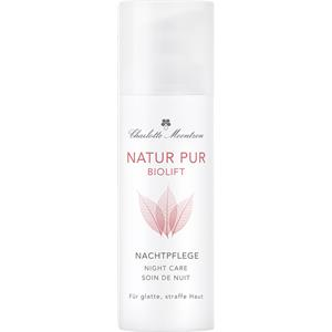 Charlotte Meentzen - Natur Pur Biolift - Night Care A for Demanding Skin