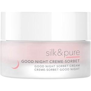 Charlotte Meentzen - Silk & Pure - Good Night Creme-Sorbet