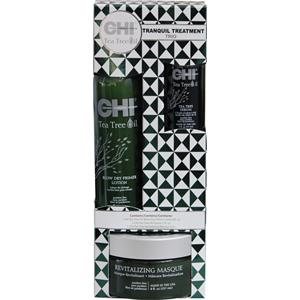 chi-haarpflege-tea-tree-oil-tranquil-treatment-trio-blow-dry-primer-lotion-177-ml-oil-serum-59-ml-revitalizing-masque-237-ml-1-stk-