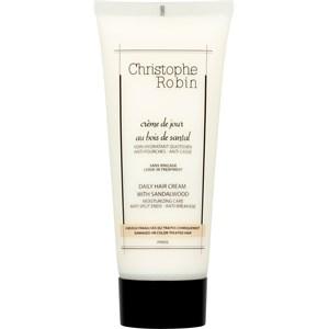 Christophe Robin - Hair Care - Daily Hair Cream with Sandalwood
