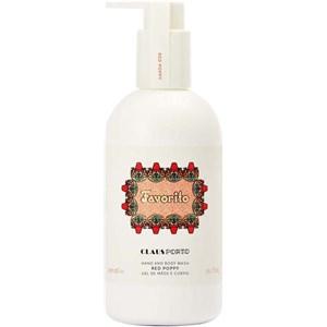 Claus Porto - Hand & Body Wash - Favorito Red Poppy Liquid Soap