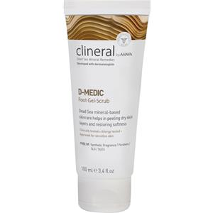 Image of Clineral Pflege D-Medic Foot Gel-Scrub 100 ml