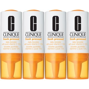 Clinique - Kosmetyki przeciwzmarszczkowe - Fresh Pressed Daily Booster with Pure Vitamin C 10%
