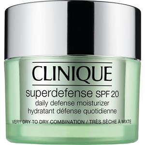 Clinique - Moisturising care - Skin type 1/2 - dry to combination skin Superdefence SPF 20 Daily Moisturiser