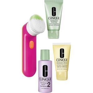 Clinique - Gesichtsreinigungsbürste - Sonic Set Pink