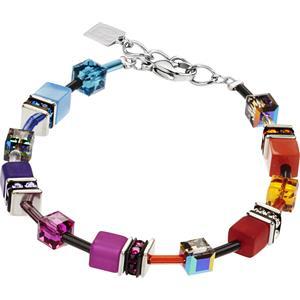 Coeur de Lion - Armbänder - Geo Cube Armband Rainbow