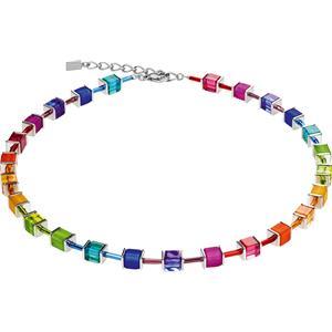 Coeur de Lion - Halsketten - Geo Cube Collier Multicolor