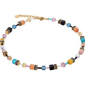 Coeur de Lion - Halsketten - Geo Cube Collier Multicolor Candy