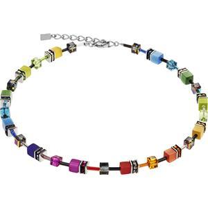 Coeur de Lion - Halsketten - Geo Cube Collier Rainbow